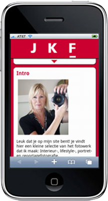 Mobiele Website Jkf
