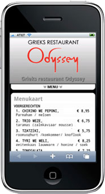Mobiele Website Ody