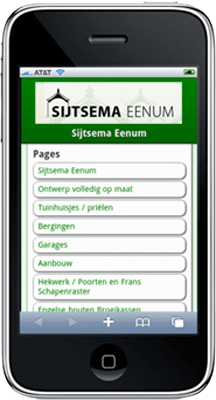 Mobiele Website Sijtsema
