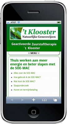 Mobiele Website Tklooster